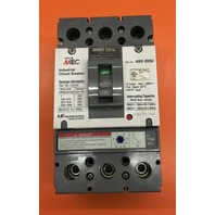 Meta MEC 125 AMP , Max 480 V Industrial Circuit Breaker/ Cat No. ABS 203U
