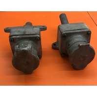 2-Crouse Hinds, AR 342, Amps 30, 3 W, 4 P, Model M54, 250 VDC, 600 VAC