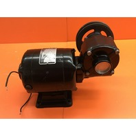 Bodine Electric NSH-34RH Gearmotor with Pully Wheel, 115V, 1.7 AMP, 5000 RPM, 1/8 HP