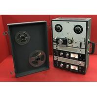 Vintage Working Portable Akai Tape Recorder/ Reel to Reel/ Model M-8