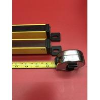 "Pair Sti Micro Safe MC4700 Light Curtain MC47-30-750-R & MC47SR-30-750-X /30"""