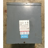 Square D 5KVA Transformer 5S1F  240 x 480 V- 120/240 V 1PH