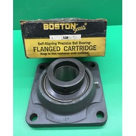 Boston Gear 12 F, 2 1/4 Self-Aligning Precision Ball Bearing Flanged Cartridge