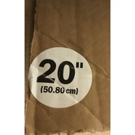 """Box of 3- 20"""" Blue Cleaning Pads(3M 5300 ) With 1- Pad Driver for Rotary Floor Machines"""