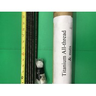 """4-Titanium All Threaded Rods 32 1/8"""" Long,  with nuts"""