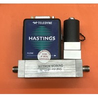 TELEDYNE/ Hastings Mass Flow Controller HFC-302, Gas, Max working pressure 500 PSIG