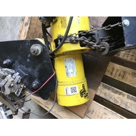 Budgit LiftTech Electric Chain Hoist W Trolley BEH0116, 2000 LB,  230/460V