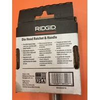 "Ridgid Manual Pipe Threader 00-R , With One 1/8"" Die Head Complete"