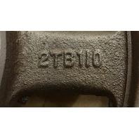 Browning 2TB110 Split Taper Sheave, Cast Iron, 2 Groove, A or B Belt, Uses Q1 Bushing