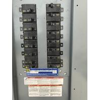 Combo- SQUARE D Transformer Cat. EE150T3H, 150 KVA, 480V + Panel W/main + plugs