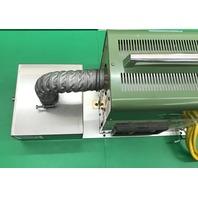 TSK-10 ELectric hot-air generator, Out put gas temp 350°C