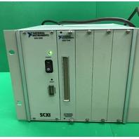 National Instruments  SCXI-1000 Chassis,  Part No. 181445D-01 Rev 4