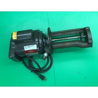 Gusher Pump, Model SP3-XLONG, w/ Ruthman Machinery Motor  .1 HP,  3450 RPM