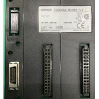 Omron Base Unit C200HW-BC081-V1, Lot 1330, NK APP. <96A105>  02901263