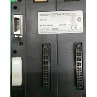 Omron C200HW-BI101-V1 Base Unit, Lot No. 0681, NK APP. <96A106>  02901256