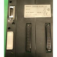 Omron C200HW-BI081-V1 Base Unit, Lot No. 1140, NK APP. <96A105>  02901255
