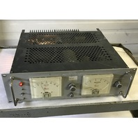 HARRISON LABORATORIES Inc. MODEL 810B, REGULATED POWER SUPPLY