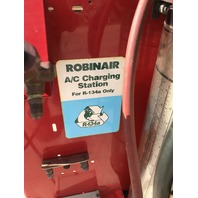 Robinair A/C Charging Station, For R-134a only, Model No. 2660380992, 120 VAC