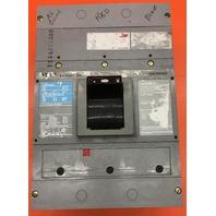 Siemens Sentron Circuit Breaker LXD63B600 600 Amp 600V
