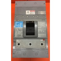 SIEMENS SENTRON SERIES MD63F800 Circuit Breaker 800 A 600V