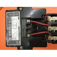 Square D 8536 SEO 1, Size 3 Motor Starter