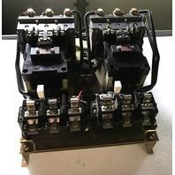 ALLEN-BRADLEY 715X-DOD11, SIZE 3 REVERSING STARTER, 460 V ,40 HP, 120 VOLT COIL
