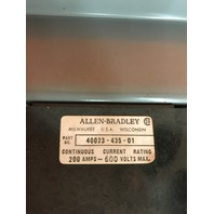 Allen-Bradley X-402237, 200 Amp, 600 volts Max, Fusible Disconnect Switch