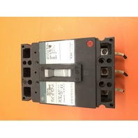General Electric Industrial Curcuit Breaker 20 Amp 600V 3 Pole Cat No. TED136020