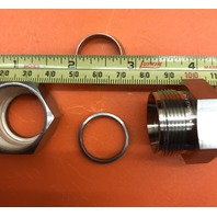 7-Swagelok Tube Fitting, Union, 5/8 in. Tube OD x 5/8 in. AN Tube Flare