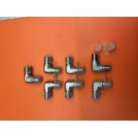 "7-Fastenal (SKU # 426333) 1/4"" x 1/4"" MPxMP S/S 90Deg Elbow 5500 Series"