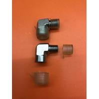 """2-Fastenal (SKU # 426352) 1/4"""" MPT x 1/4"""" FPT S/S 90Deg Street Elbow 5502 Series"""