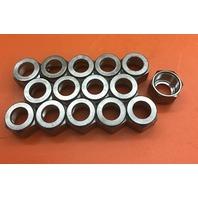 15-Swagelok SS-812-1 Tube Fitting, 1/2 in Nut, Stainless Steel