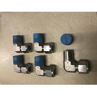11- Swagelok SS-810-2-8 Tube Fitting, Male Elbow, 1/2 in. Tube OD x 1/2 in. Male NPT