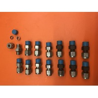 """14- Swagelok Tube Fitting, SS-400-1-4 for 1/4"""" male npt by 1/4""""  tube straight"""