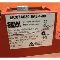 Sew Eurodrive Movitrac MC07A030-5A3-4-00