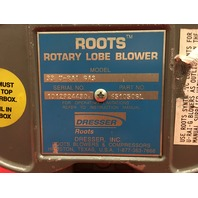 Roots Rotary Lobe Blower 33 U-RAI GAS Blower