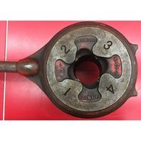 "Ridgid 65-R 1""-2"" rachet pipe threader"