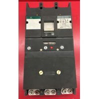 General Electric Tri-Break Circuit Breaker 400 A 600 V Cat No. TB43400AF14 - Used