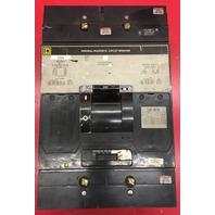 Square D 500 Amp 600 Volt Magnetic Trip Circuit Breaker MAL36500