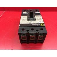 Square D KAL36225 225AMP 600VAC/250VDC 3-Pole Breaker