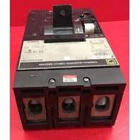 Square D 300 A 600  V Thermal Magnetic Trip Breaker LAL36300