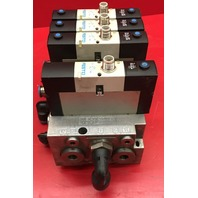 Festo VSVA-B-P53E-H-A1-1R5L Pneumatic Valve block with 4 Valves and 5 sub-base