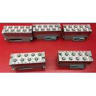 Lot of 5 Siemens 6ES7-194-4CB00-0AA0 Connection Module w/ Backplance Bus Module