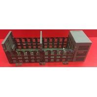 Allen Bradley 10 Slot Rack  1746-A10 SeB With Power Supply 1746-P2 Ser C