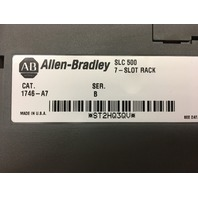Allen Bradley 7 Slot Rack  1746-A7 SeB With Power Supply 1746-P2 Ser C