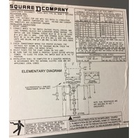 Square D SK2000G2 Ser A Transformer Disconnect