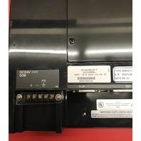 "Total Control GE Fanuc QP12D10082P-F Quickpanel, Mono 10.5"", LCD 24 VD"