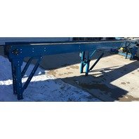 "New London Engineering 1000S-10""-16' Plastic Chain Conveyor 230/460 V 3 phase"
