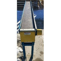 "New London Engineering 1000S-10""-10' Plastic Chain Conveyor 230/460 V 3 phase"