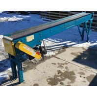 "New London Engineering 1000S-10""-10' Plastic Chain Conveyor 230/460 V 3 phase"